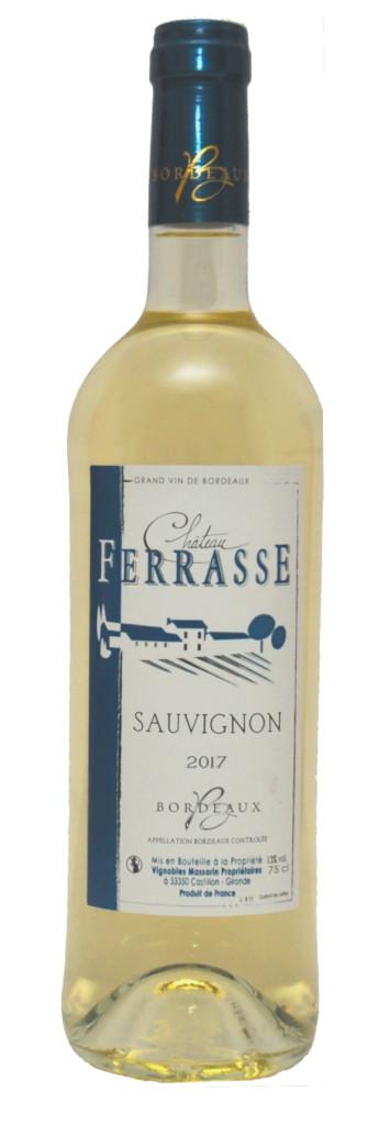 vin blanc sauvignon chateau ferrasse